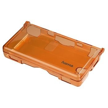 Nintendo DS lite - Crystal Case transparent orange, Nintendo DS