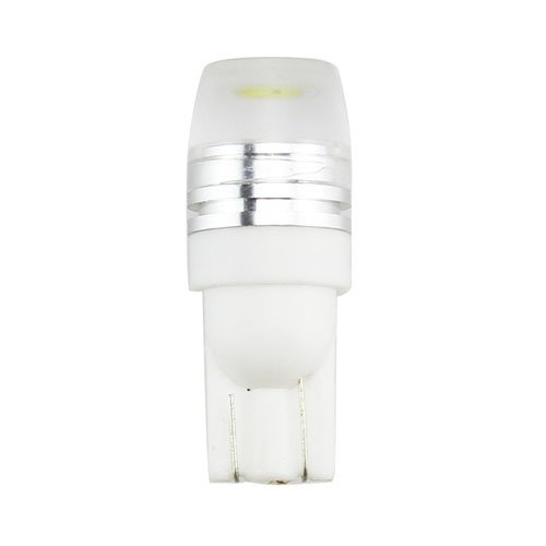 Muchbuy T10 2D 3 Smd 1W White Led Car Side Wedge Tail Light Bulb, 12V 50Lm
