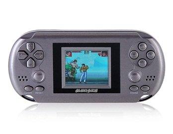 8203PCP Color Screen 12 Games Console (Silver)