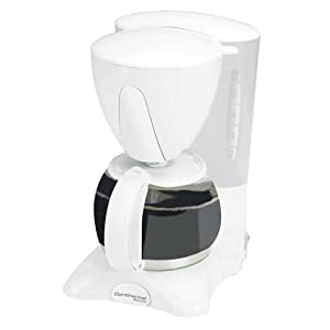 White Electric Coffee Maker : Amazon.com: Continental Electric 4 Cup Coffee Maker CE23581 Pause and Serve-white: Drip ...
