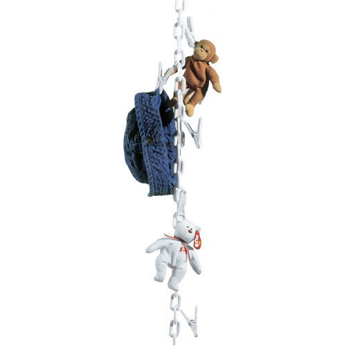Original Chain Gang Toy Organizer - White