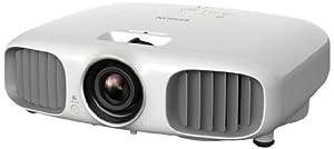 Epson EH-TW6000W 3D LCD-Projektor (Wireless-Verbindung WiHD, Kontrast 40.000:1, 2.200 ANSI Lumen, Full-HD 1920 x 1080 Pixel) weiß