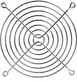 Cables Unlimited Chrome Fan Guard - FAN-GUARD-120 (Silver)