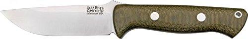 Bark River Bravo 1 Green Canvas Fixed Blade Knife 07-111M-Gc