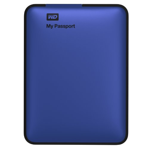 WD My Passport 2TB Portable External USB 3.0 Hard Drive Storage Blue (WDBY8L0020BBL-NESN)