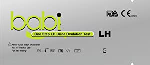 babi One Step Ovulation (LH) Test Strips, 100-Count