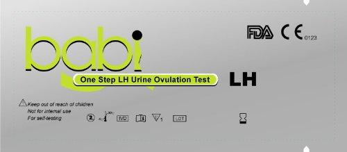 babi Combo 40 tests d'ovulation et 10 bandelettes