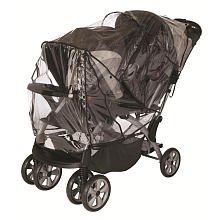 Babies R Us Tandem Stroller Rain Cover - 1