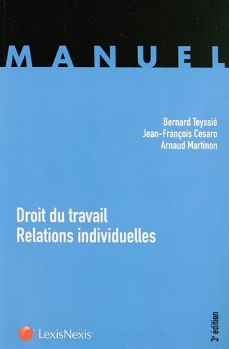 Droit du travail : Relations individuelles