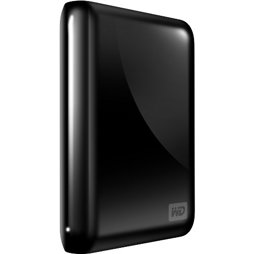 Western Digital My Passport Essential SE 750 GB USB 3.0/2.0 Ultra Portable External Hard Drive (Black)