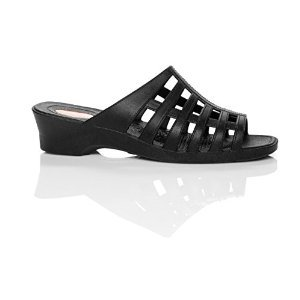 Okabashi Womens Sienna Sandal Shoes (Black, Medium/Large)