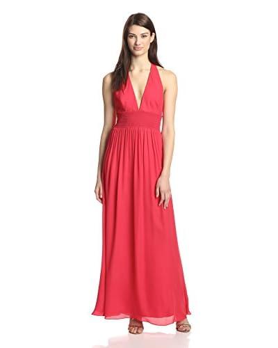 Nicole Miller Women's Halter Maxi Dress