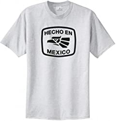 Big Mens Hecho En Mexico T-Shirt (Big & Tall and Regular Sizes)