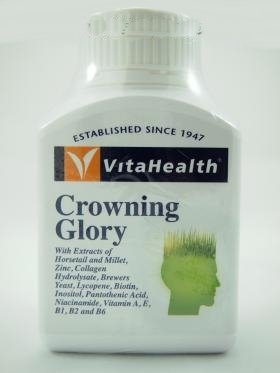 Vitahealth Crowning Glory 60 Tablets. [Get Free Herbal Lozenges]