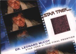 Complete Star Trek Movies MC14 Dr. McCoy Costume Card #1197 Pink Variant