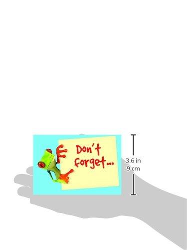 Don't Forget Frog Postcards