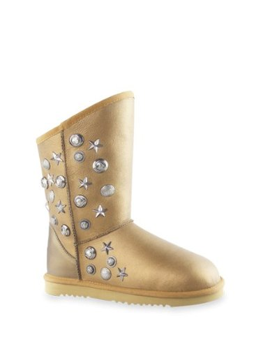 Women Boots Aukoala Australia Sheepskin Warm Boots For Womens Apollo Boots Us Size 7 Soft Golden