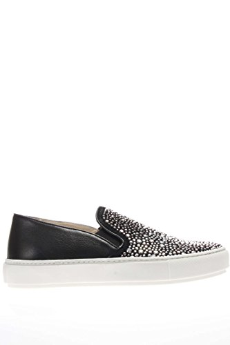 37728 NERO.Sneaker slip on.Nero.39