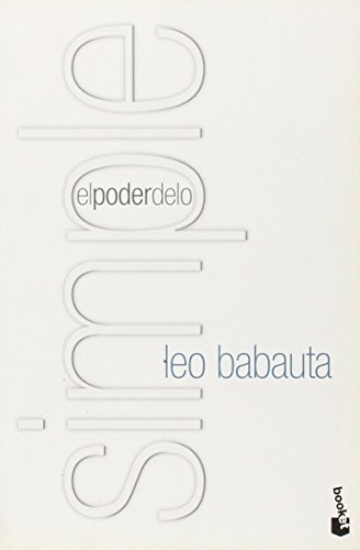 EL PODER DE LO SIMPLE descarga pdf epub mobi fb2
