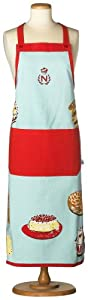 Nigella Lawsen's Living Kitchen Images Apron, Blue/Red