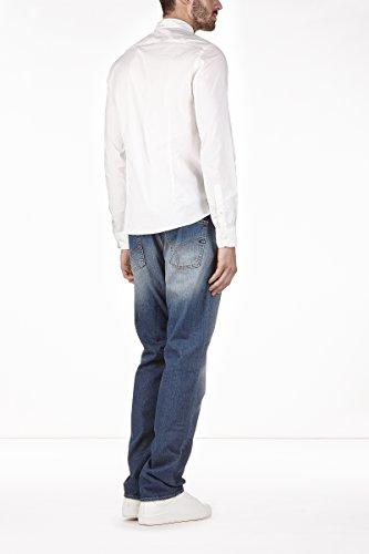 GAS ANDREW CORE/S ES. 0001 Camicia uomo a maniche lunghe slim fit