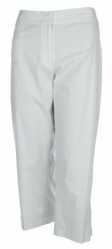 Eileen Fisher Clam Digger Cropped Pants Small Bone [Apparel]