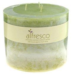Multi Wick Citronella Candle - Green - 63-8036 from Alfresco