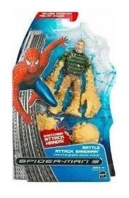 Buy Low Price Hasbro Battle Attack Sandman Figure – Marvel Spider-Man 3 Movie Series 1 (B001RZGYHA)