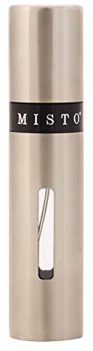 Misto Oil Sprayer - Stainless Steel with Level Indicator Window (Chrome) (Misto Olive Oil Sprayer compare prices)