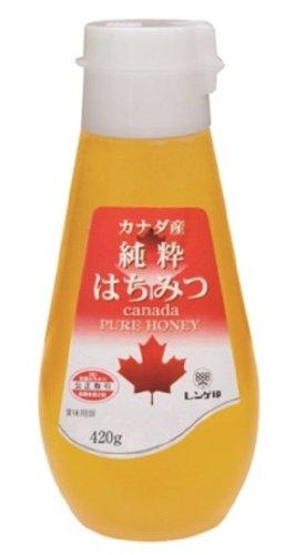レンゲ印 カナダ産純粋はちみつ 420g