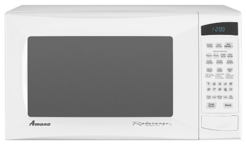 Amana 1.4 cu. ft. Countertop Microwave, AMC5143AAW, White