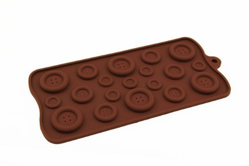 Hanson Button Muffin Sweet Candy Jelly Ice Silicone Mould Mold Baking Pan Tray Make