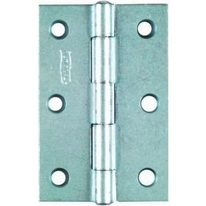 National Hardware V518 3-Inch Zinc Plated Non-Removable Pin Hinge front-1078564