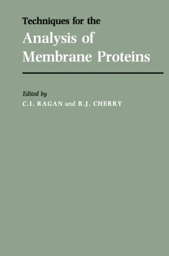 Techniques For The Analysis Of Membrane Proteins