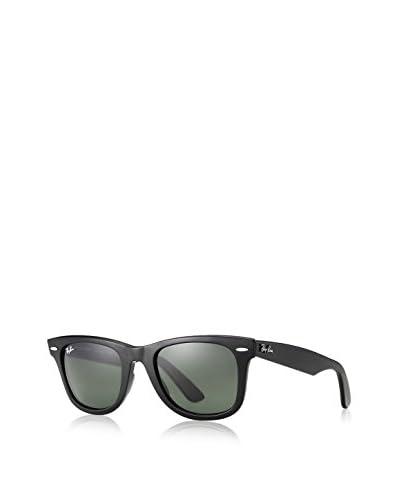 Ray-Ban RB2140 Original Wayfarer Sunglasses, Black/Crystal Green
