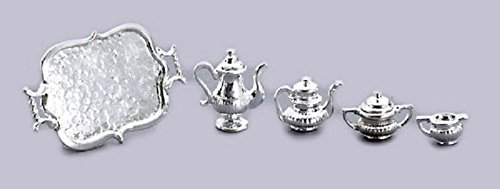 Dollhouse SILVER TEA SERVICE