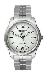 Tissot PRC 100 White Dial Men's Watch #T049.410.11.017.00