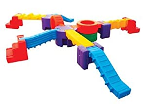 Climb And Play Seventeen Piece Play Center