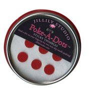 Purchase Jillily Studio Poke-A-Dots Sticky Thimbles Self Adhesive Thimble Fingertip Pads (18 dots) I...