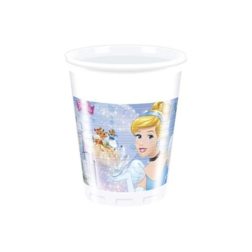 Cinderella's Fairytale-Plastic Cups , Disney Princess Cinderella Theme Birthday Party , Kids Party Supplies ,Princess Theme , Princess Cup (Pack of 8)  available at amazon for Rs.69