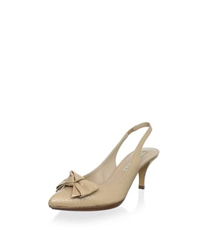 Pura López Women's Pointed Bow Slingback