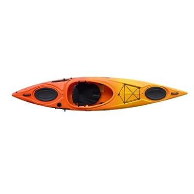 Enduro 12 Riot Kayaks Yellow/Orange 12ft HV Flatwater Day Touring Kayak