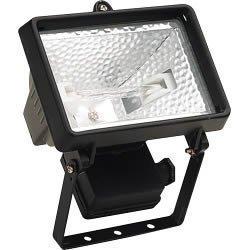 Projecteur halogène 150 W (Noir)