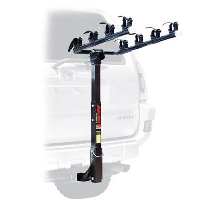 Allen Deluxe Four Bike Hitch Mounted Car Rack - 542RR