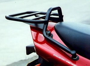 Renntec Rack Carrier For Suzuki GSF600 S-X Bandit with original grab rails / Suzuki GSF1200 St-Sy - Black