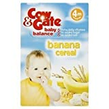 COW & GATE BB J 4M CEREAL SUNSHINE BANANA 125G