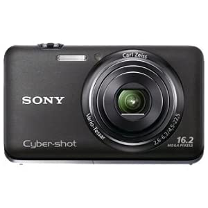 Sony 16.1 MP Exmor R CMOS Digital Still Camera with Carl Zeiss Vario-Tessar 5x Wide-Angle Optical Zoom Lens and Full HD 1080/60i Video