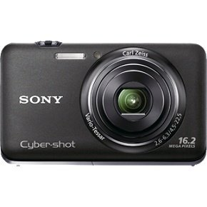 Sony DSCWX9/BBDL 16.2 MP CMOS Sensor with 5 x Optical Zoom Digital Camera Bundle Black