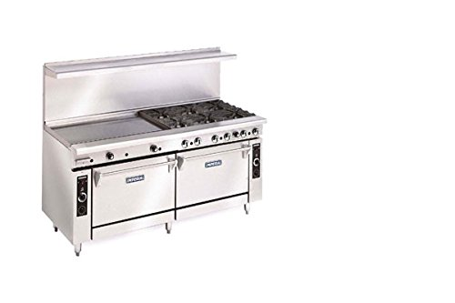 Imperial-Commercial-Restaurant-Range-72-With-8-Burner-24-Griddle-2-Ovens-Nat-Gas-Ir-8-G24-Cc