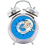 Retro Style Boys Childrens Astronaut Alarm Clock